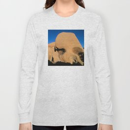 Joshua Tree National Park: Skull Rock Long Sleeve T-shirt