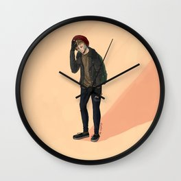louis colors  Wall Clock