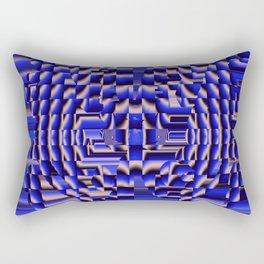 Interference Pattern Rectangular Pillow