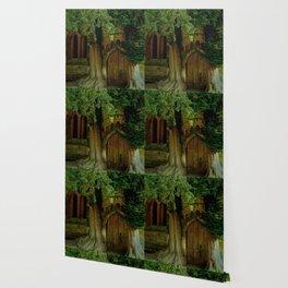 A Secret Door to a Magic Place? Wallpaper