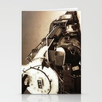 train Stationery Cards featuring Train by SteeleCat
