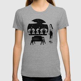 WOODCHOPPING WOMAN T-shirt