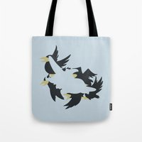 dumbo Tote Bags featuring Dumbo by Citron Vert
