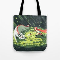 wallet Tote Bags featuring Duel by Freeminds