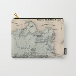 Map of East Hampton 1873 Carry-All Pouch