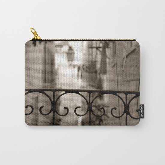 Lisbon street bokeh Carry-All Pouch