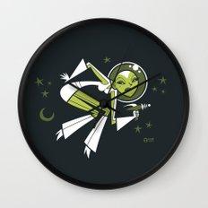 Hallucinating Pluto Wall Clock
