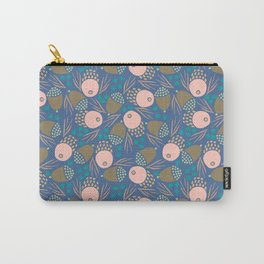 November Born - acorn pattern Carry-All Pouch