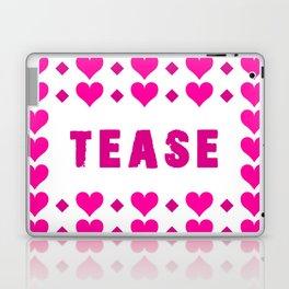 Tease - pink Laptop & iPad Skin