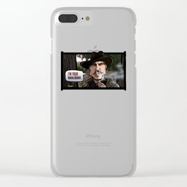 I'm Your Huckleberry (Tombstone) Clear iPhone Case