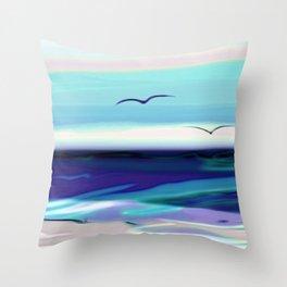 ocean touch no.4a Throw Pillow