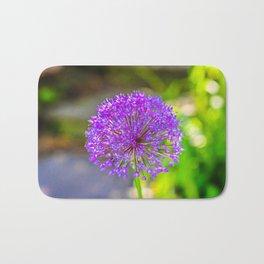 Purple + Blue Flower Bath Mat