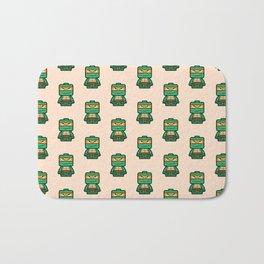 Chibi Michelangelo Ninja Turtle Bath Mat