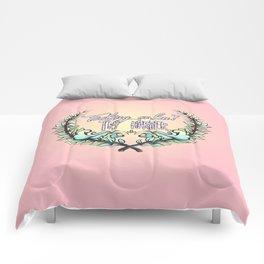 Feeling Calm? Comforters