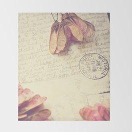 Victoria 1946 - Love Letter Throw Blanket