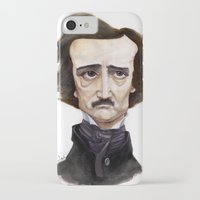 poe iPhone & iPod Cases featuring Poe by Vito Quintans