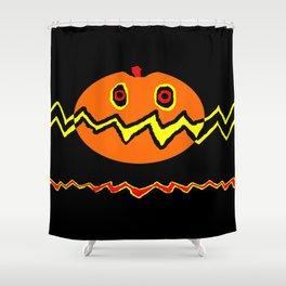 Citrouille 02 Shower Curtain
