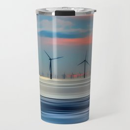 Windmills Travel Mug