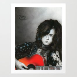 'Jimmy Page' Art Print