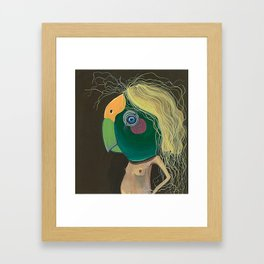 Pretty Girl Framed Art Print