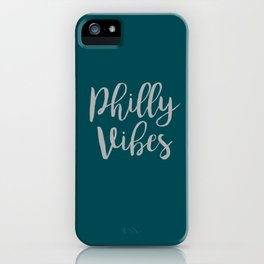 Philly Vibes iPhone Case