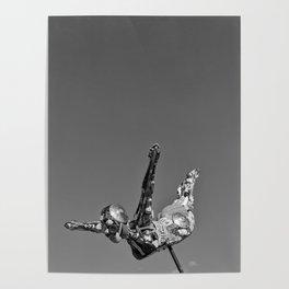 Flying Art Poster