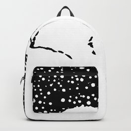 Snow Bunny Rabbit Holiday Winter Backpack