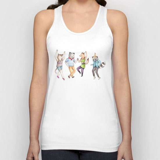 Party Animals Unisex Tank Top