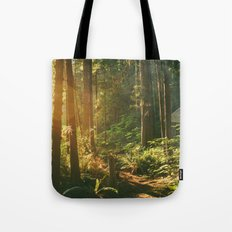 Forest Sunset Tote Bag