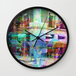 For when the segmentation resounds, abundantly. 06 Wall Clock