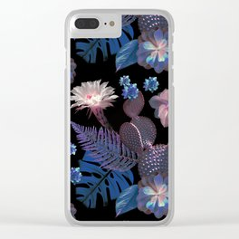 My Exotic Garden Clear iPhone Case