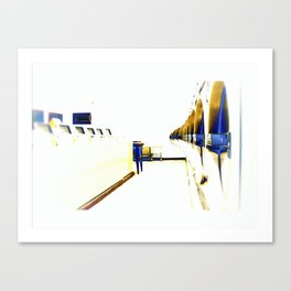 Dryers in the Hotel California Canvas Print