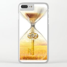 Harvest Key Clear iPhone Case