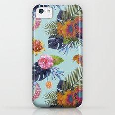 TROPICAL FLORAL Slim Case iPhone 5c