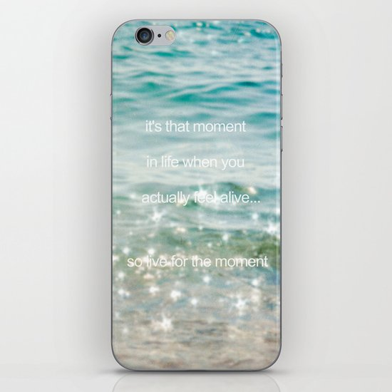 It's that moment in time iPhone & iPod Skin