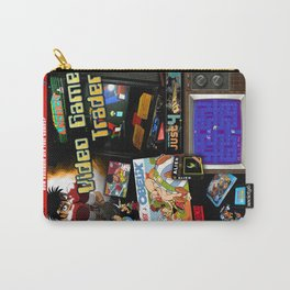 Video Game Trader #21 Cover Design  Carry-All Pouch