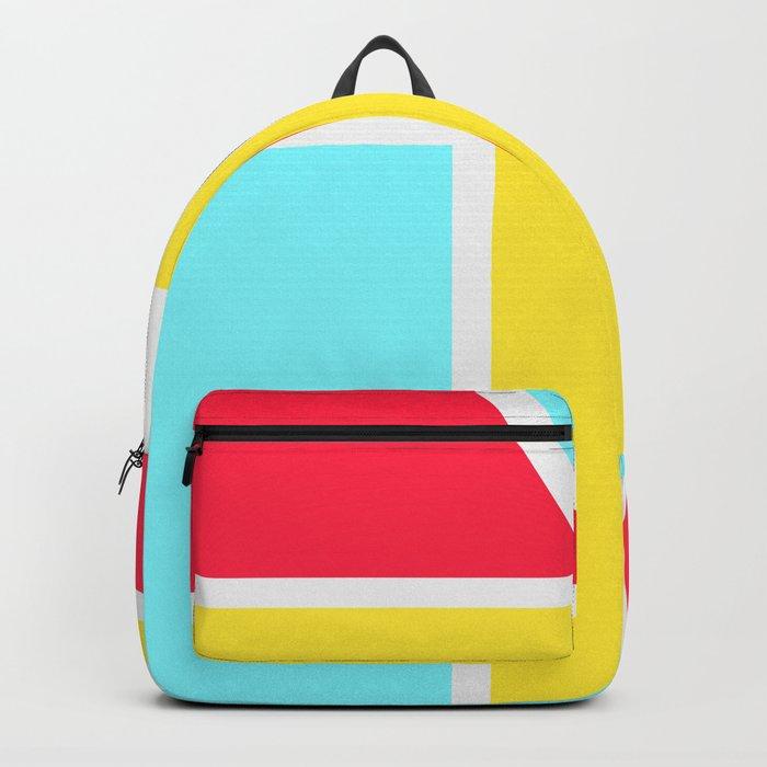 33b29fb1b4 Beach Color Block Backpack by underwatercity