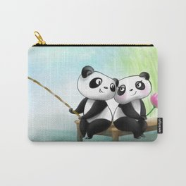 Panda Lovers Carry-All Pouch