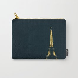 Eiffel At Night Carry-All Pouch