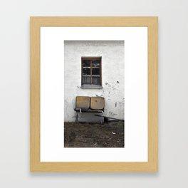 garden furniture... Framed Art Print