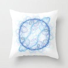 Fractal Cell Throw Pillow