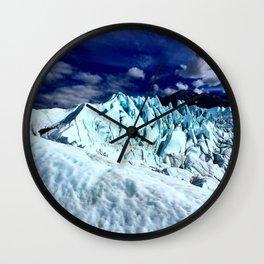 Magnificent Matanuska Glacier Wall Clock