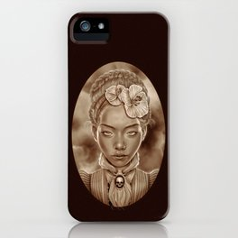 """""""VICTORIAN GHOST"""" iPhone Case"""