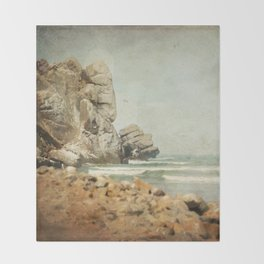 Morro Rock Throw Blanket
