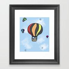 Penguin Transport Framed Art Print