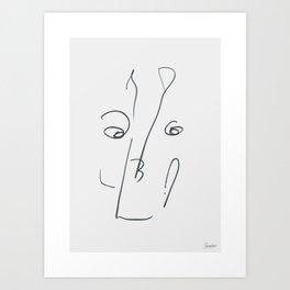 Demeter Moji d4 3-3 g Art Print