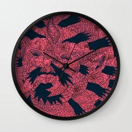 Underwater King of Onion Rings Wall Clock