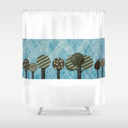 Essential Grove Shower Curtain