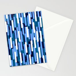 Fast Capsules Vertical Blue Stationery Cards