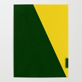 Green-Yellow Poster